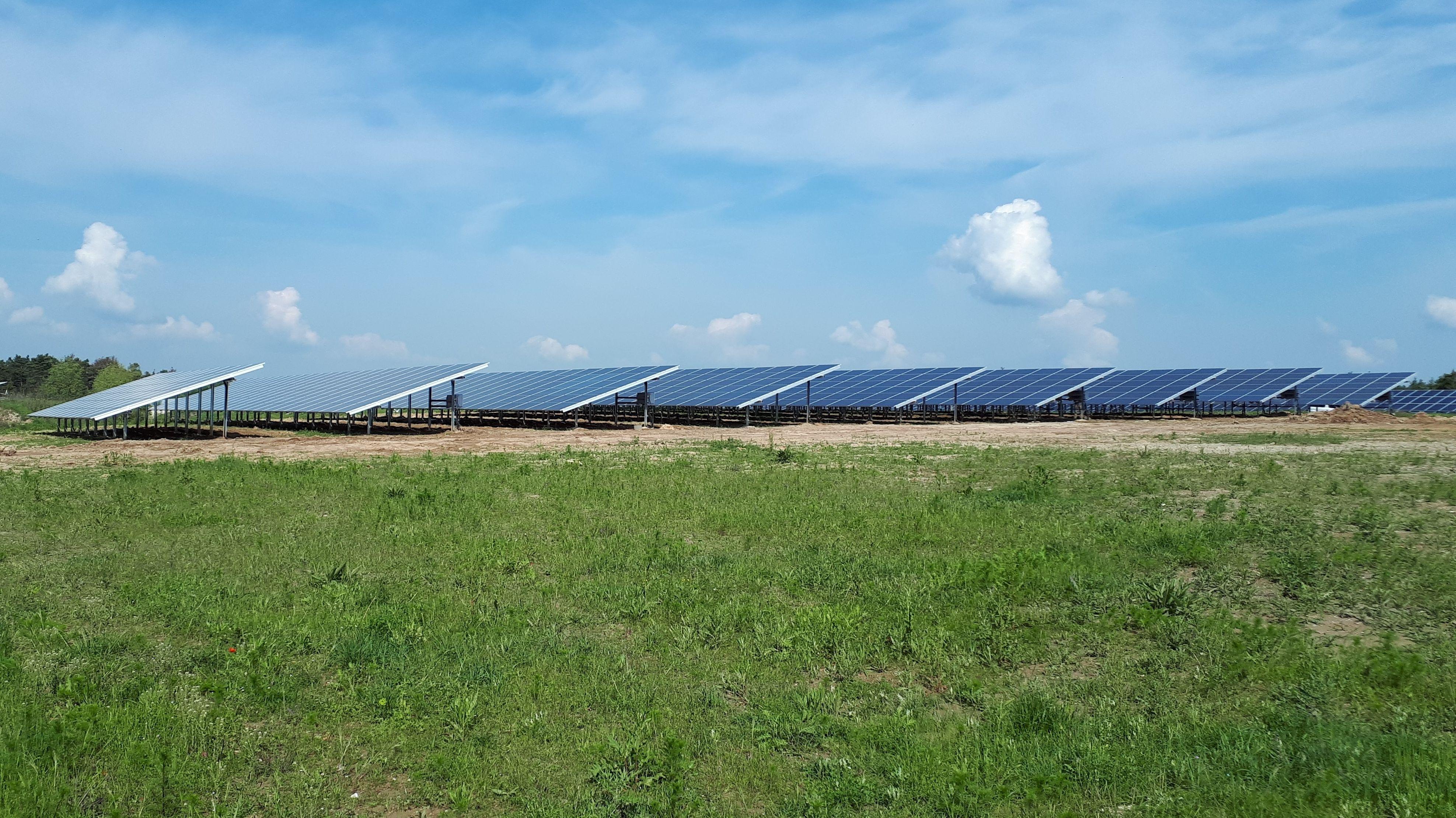 Erweiterung des Solarparks in Uttenreuth