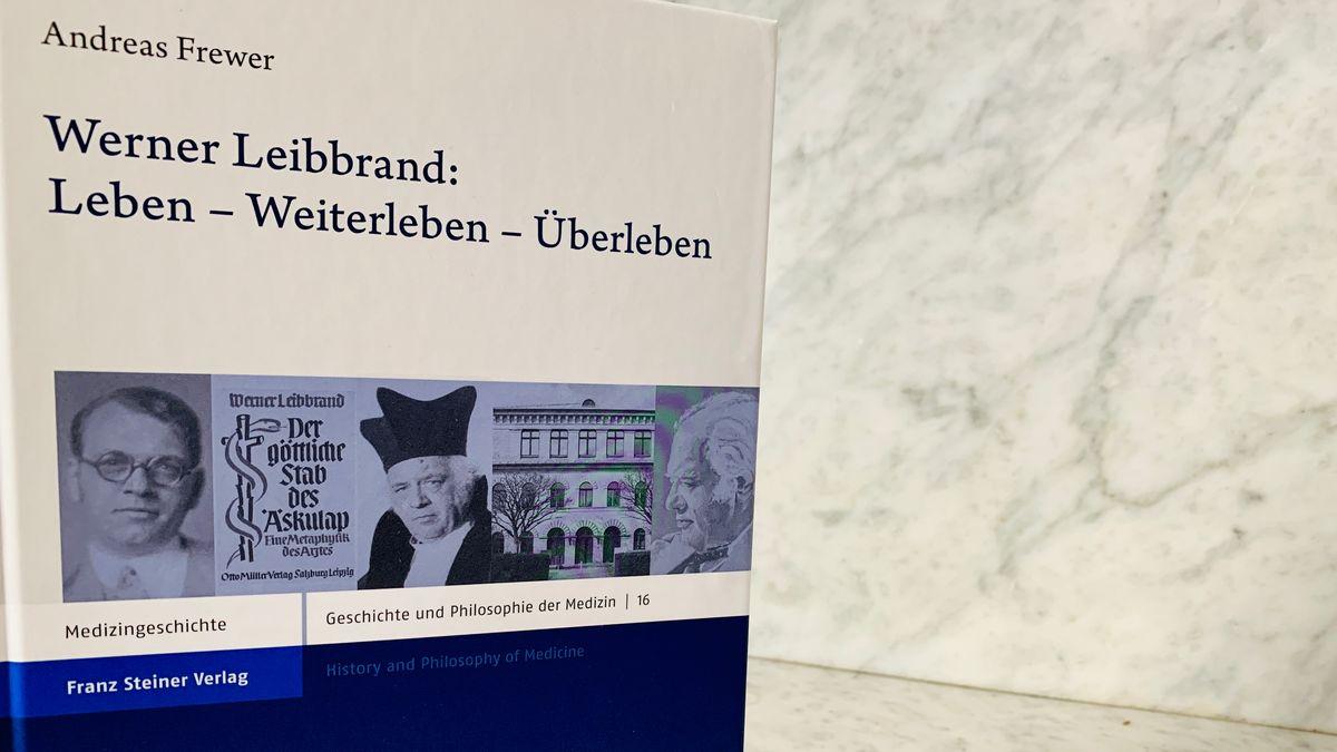 """Buchansicht mit dem Titel """"Werner Leibbrand: Leben – Weiterleben – Überleben"""""""