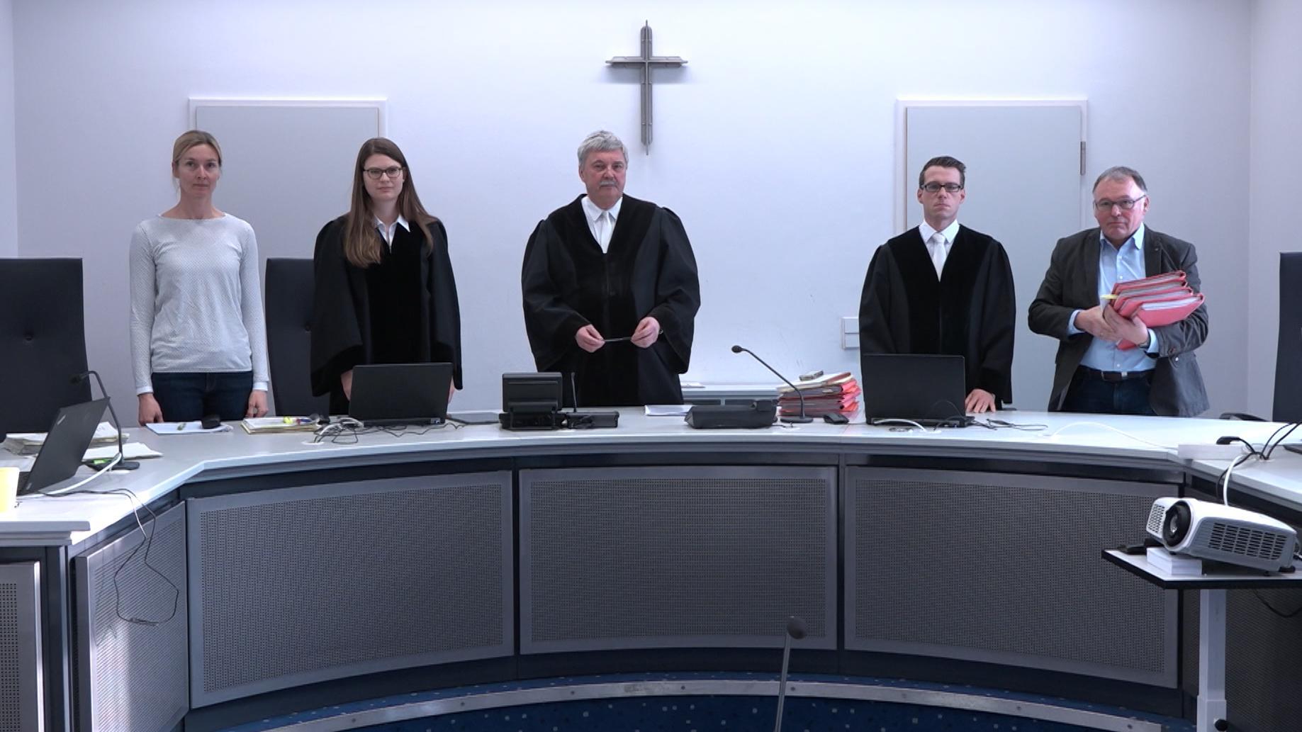Prozess wegen versuchten Totschlags im Landgericht Bamberg
