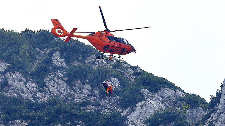 Rettung mit dem Hubschrauber