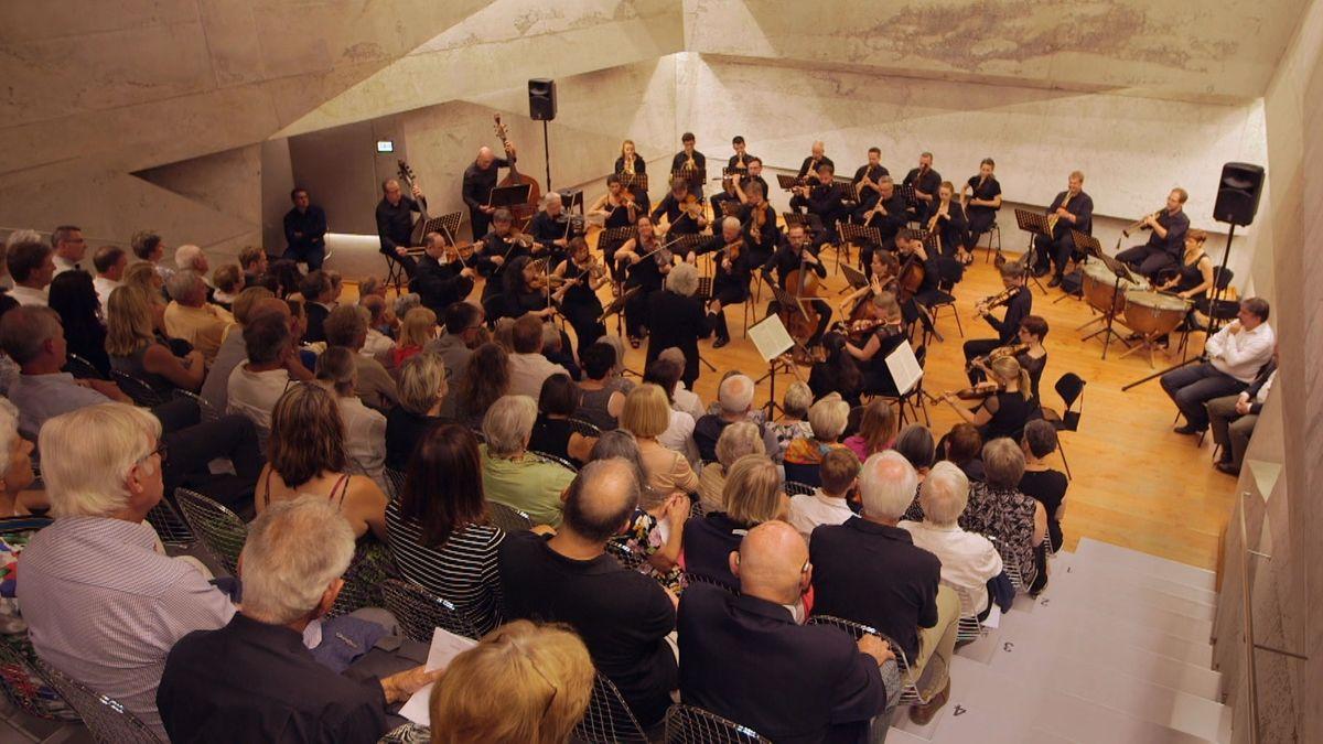 Das Konzerthaus in Blaibach wurde 2014 eröffnet.