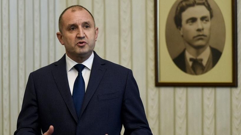 Bulgariens Staatspräsident Rumen Radew | AFP