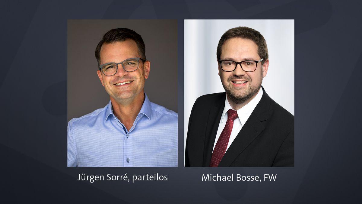 Jürgen Sorré und Michael Bosse