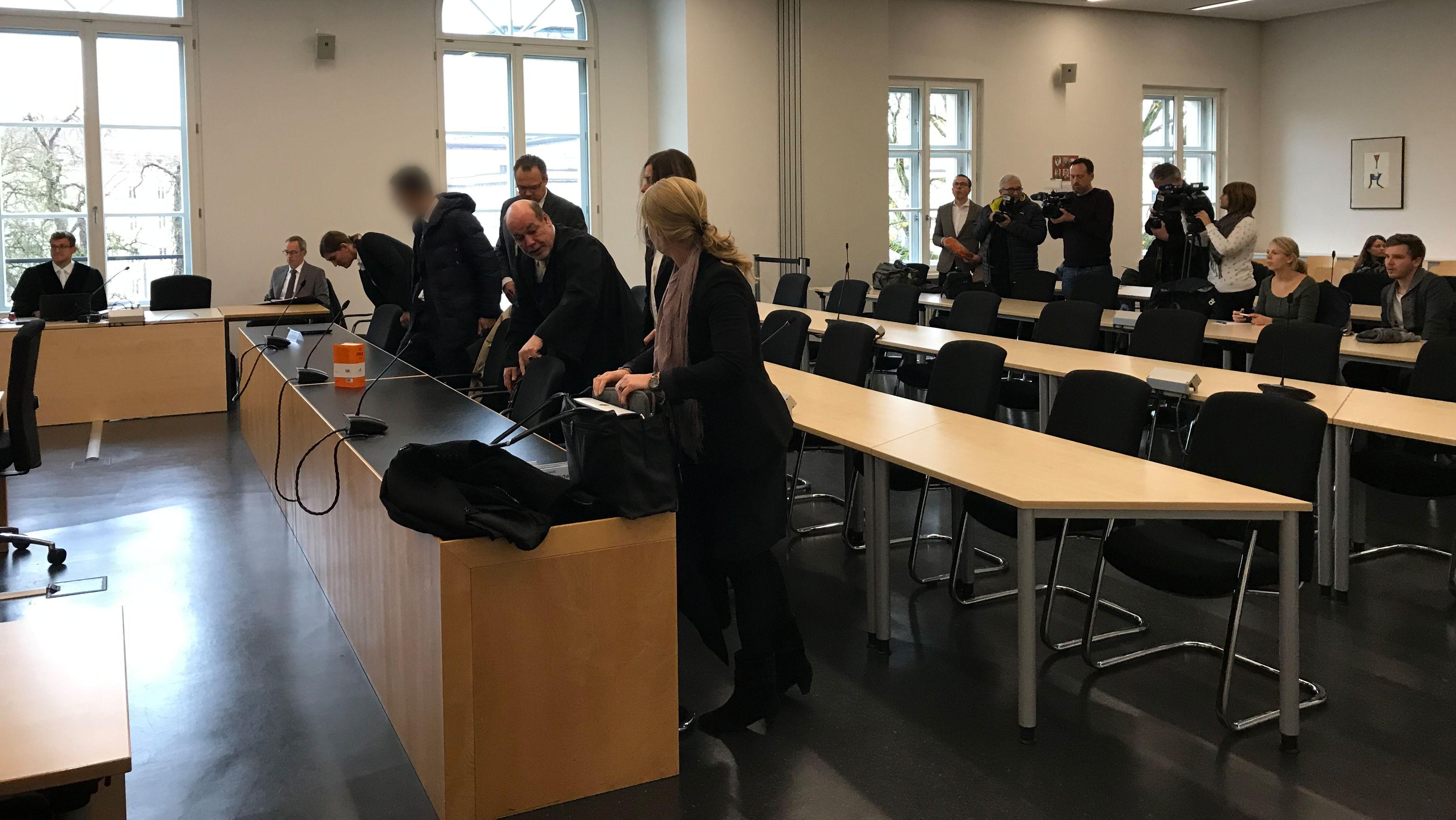 """""""Goldfinger-Prozess"""" in Augsburg beginnt"""