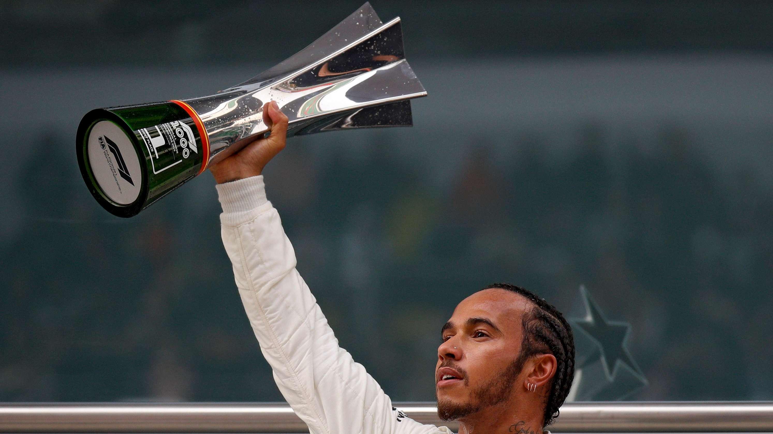 Formel 1: Grand Prix von China - Gewinner Lewis Hamilton