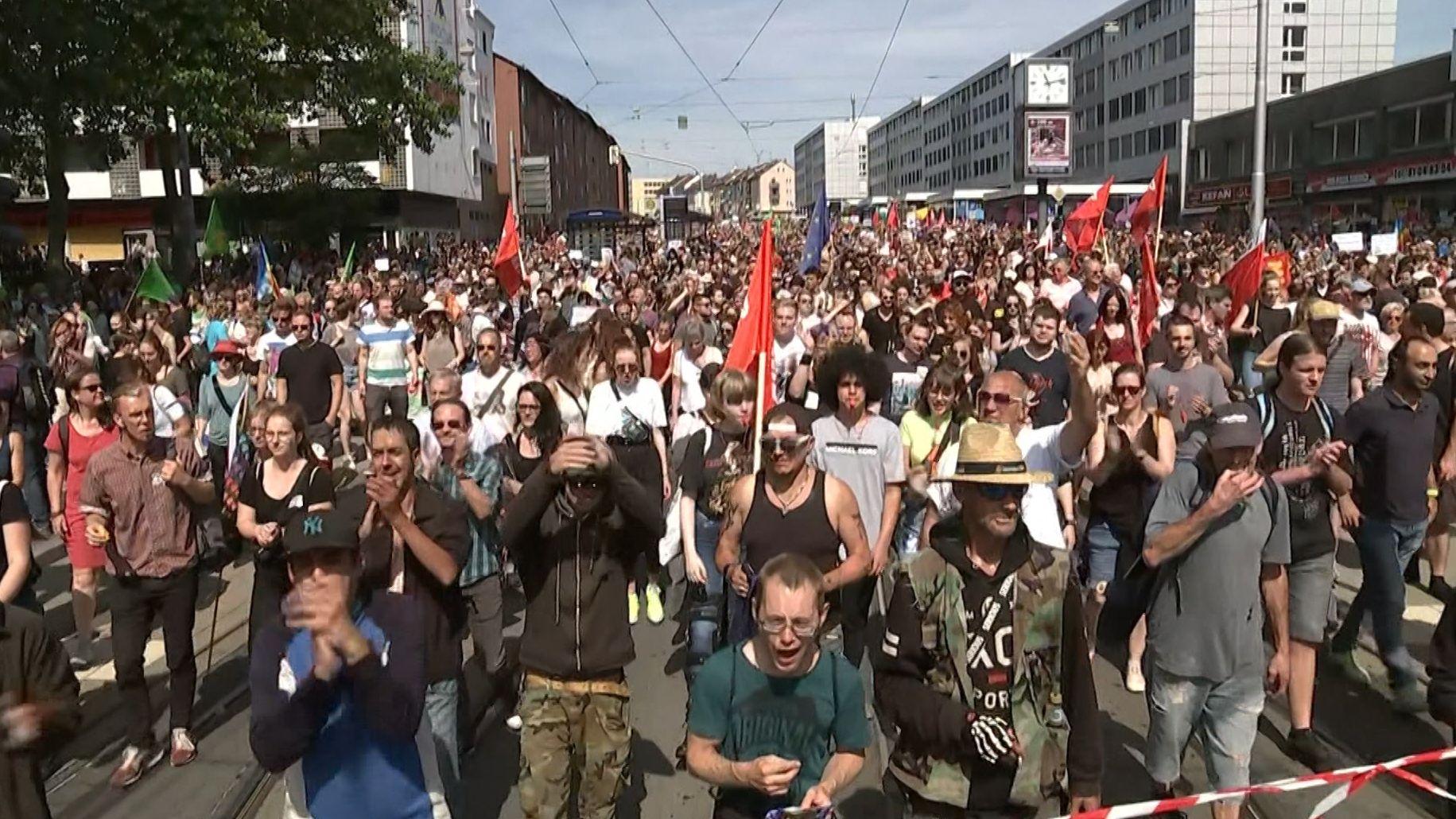 Demo in Kassel