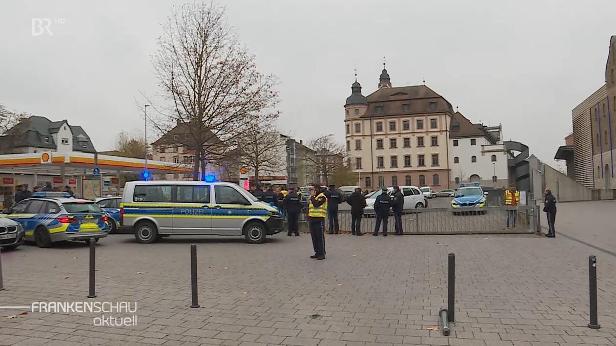 Polizeieinsatz am Würzburger Kulturspeicher