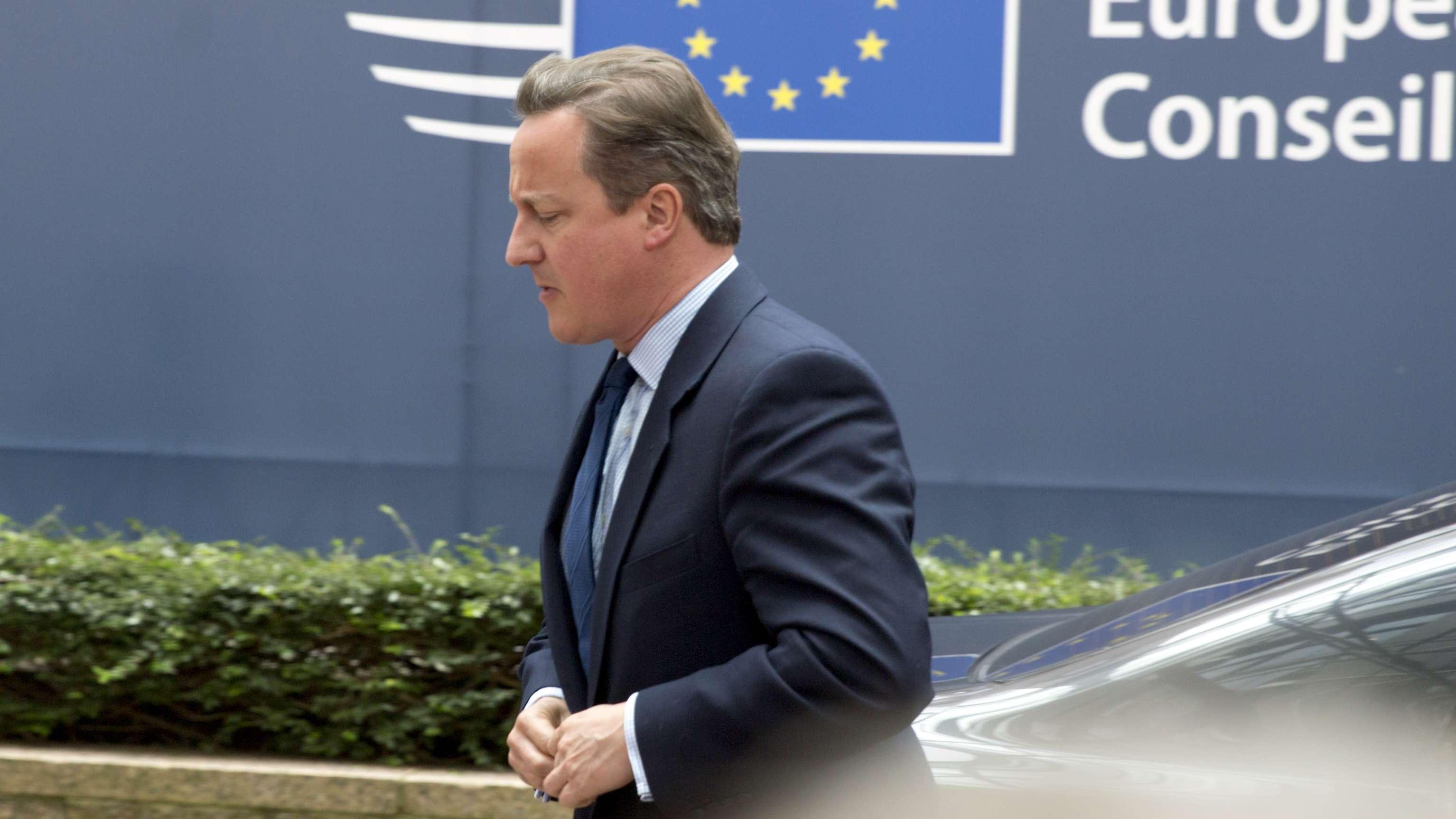 Großbritanniens ehemaliger Premierminister David Cameron