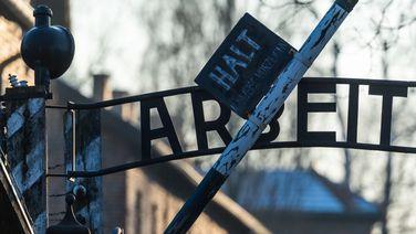«Arbeit macht frei» Schriftzug in Auschwitz | Michael Robert
