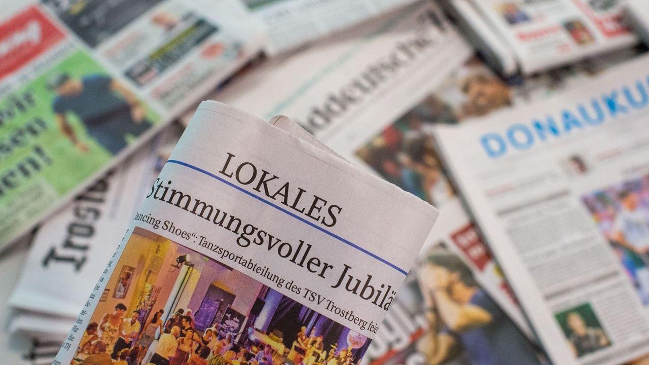 Lokalzeitungen aus Bayern