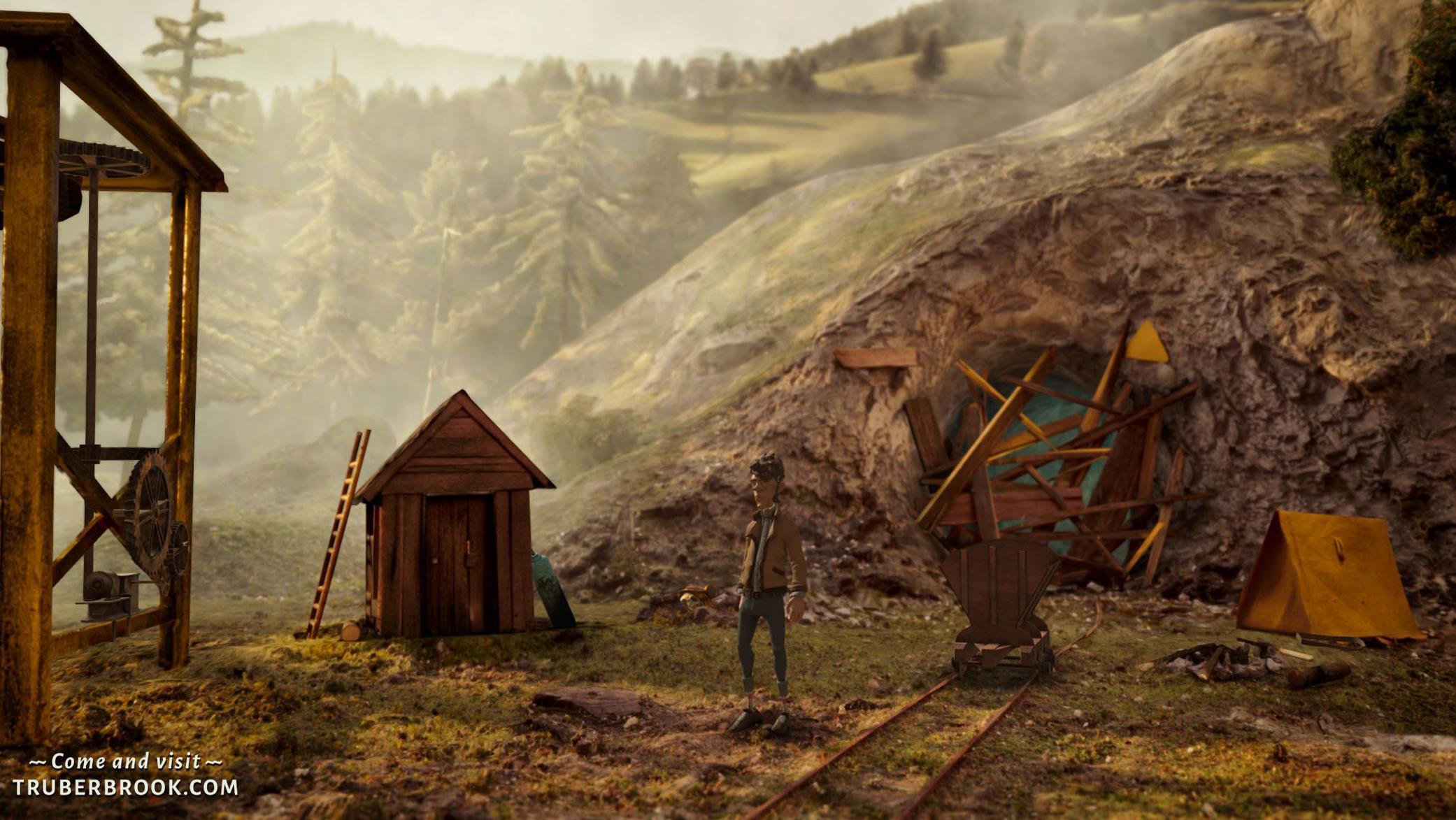 """""""Trüberbrook"""": von der Serie Twin Peaks inspiriert"""