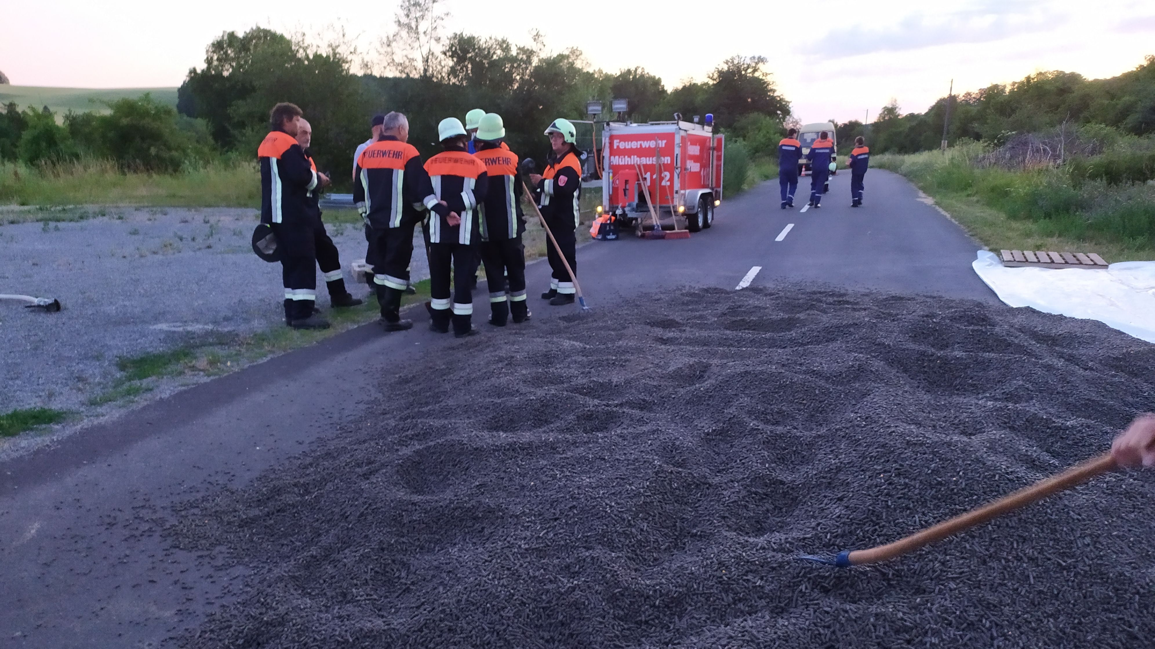 Feuerwehreinsatz in Gänheim