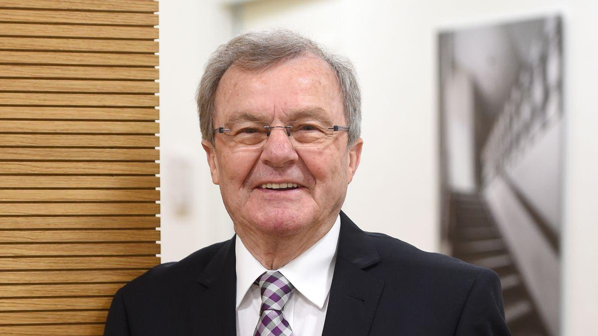 Der frühere Landshuter Oberbürgermeister Josef Deimer