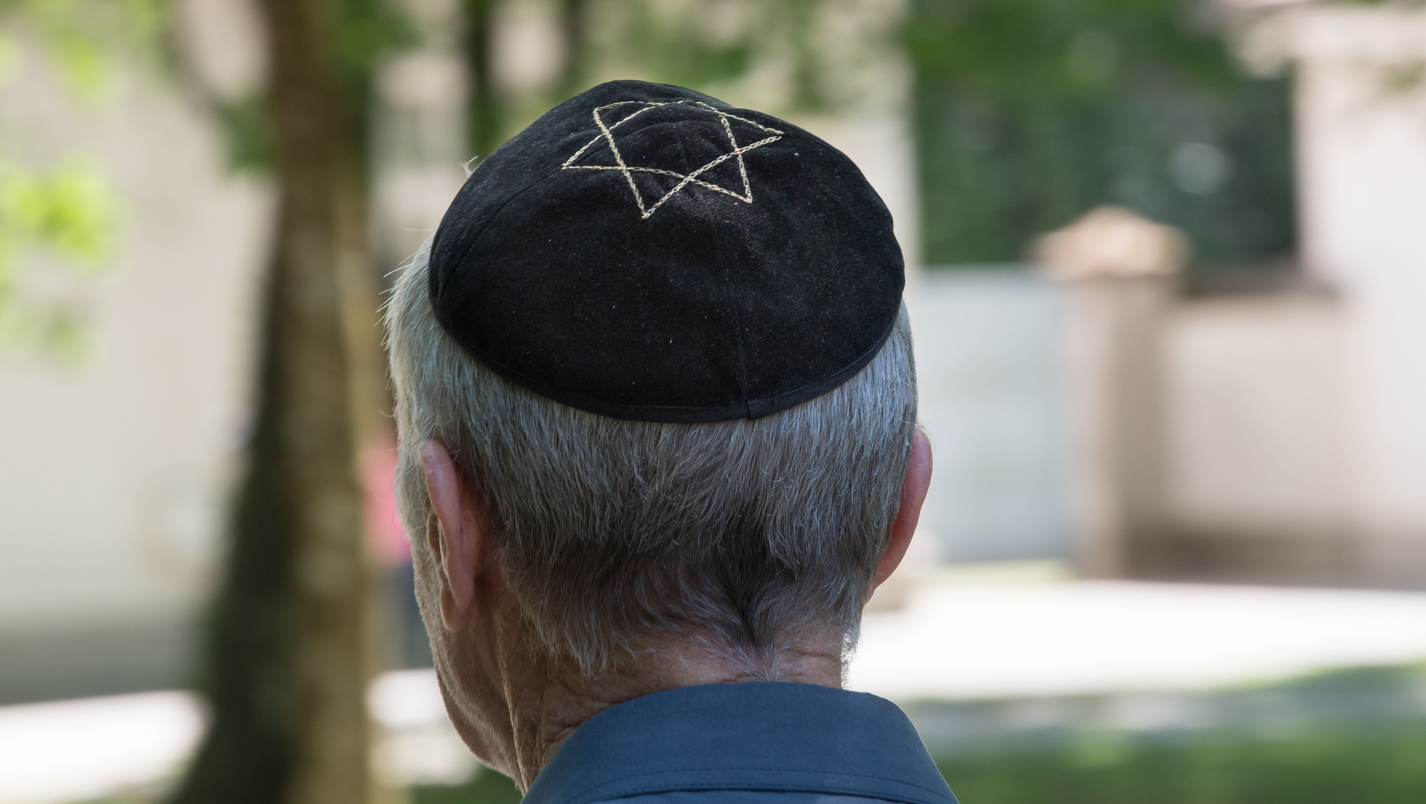 Symbolbild: Mann mit Kippa in München