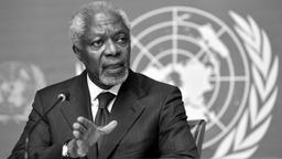 Kofi Annan | Bild:dpa-Bildfunk/Martial Trezzini