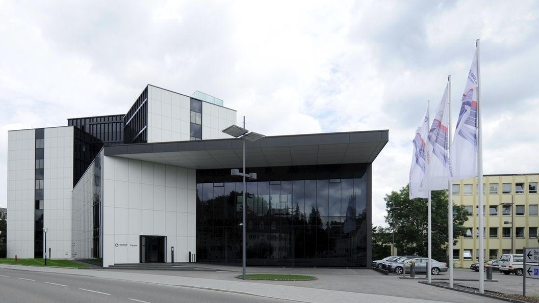 Der größte Standort von SGL Carbon im schwäbischen Untermeitigen