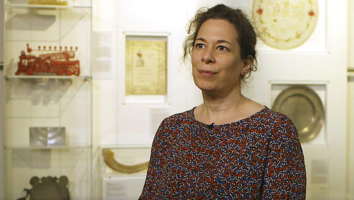 Daniela F. Eisenstein, Direktorin des Jüdisches Museums Franken
