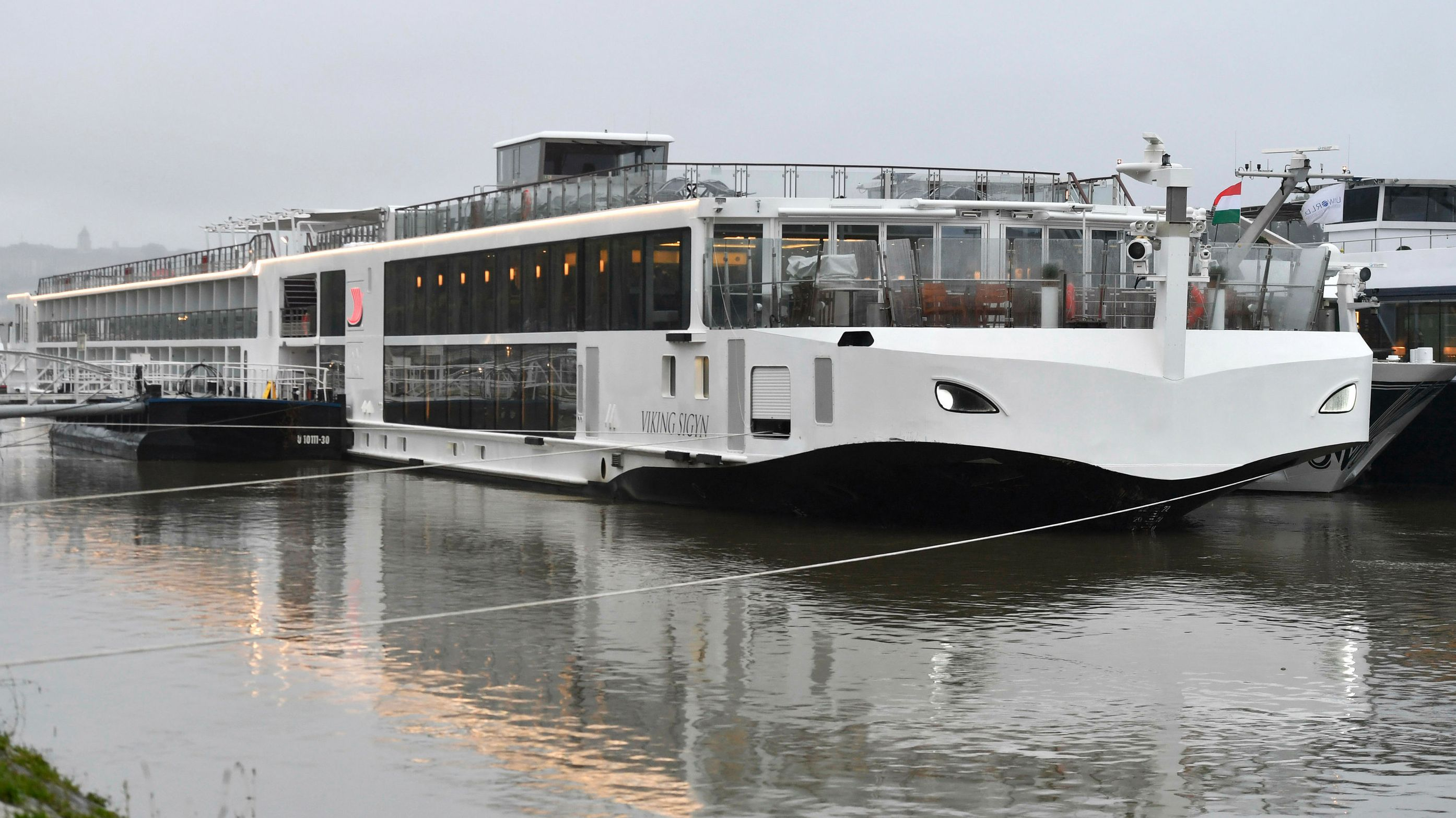 Das Flusskreuzfahrschiff Viking Sigyn, mit dem es zum Zusammenstoß kam