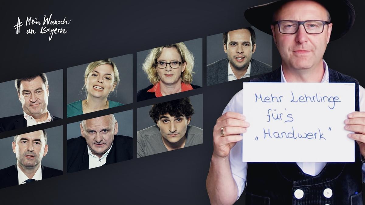 Zimmermeister Andreas Drexler bei #MeinWunschAnBayern