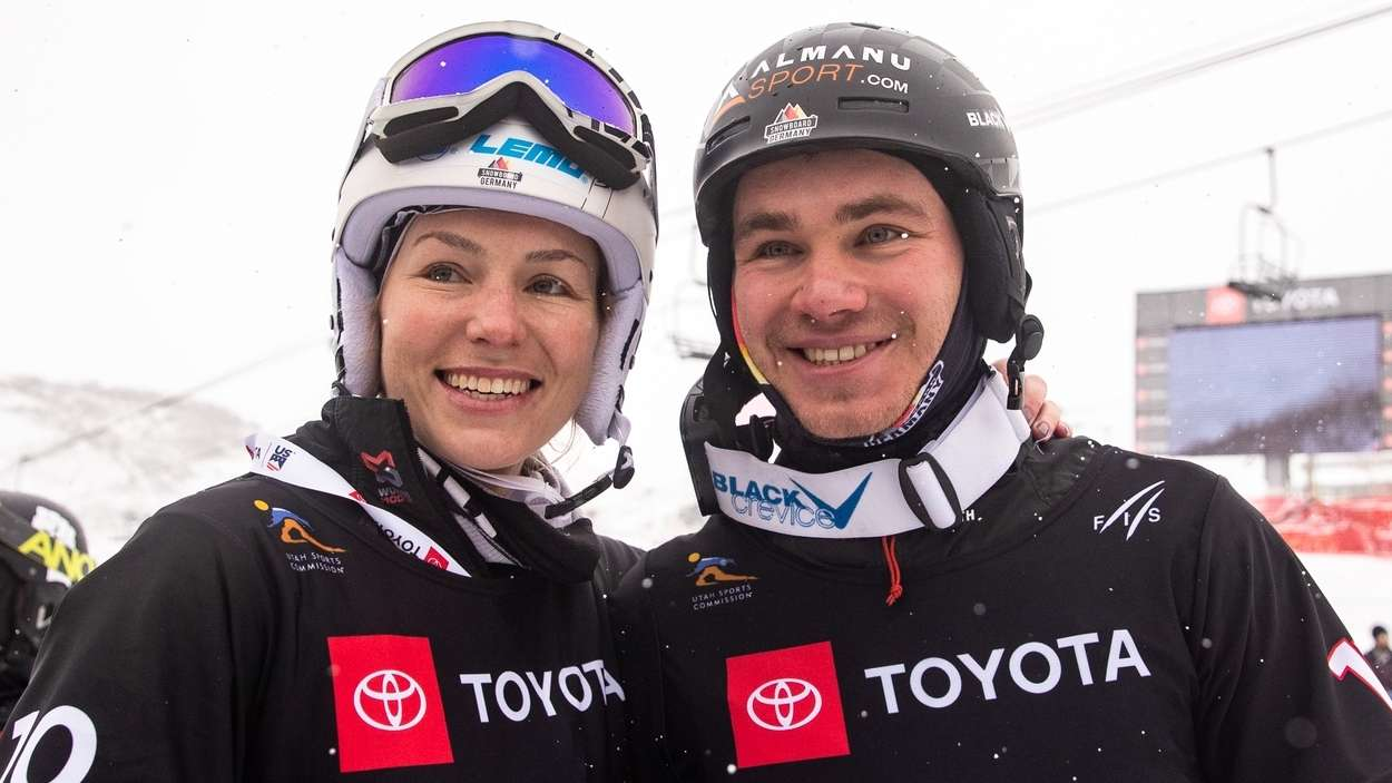 Selina Jörg und Stefan Baumeister