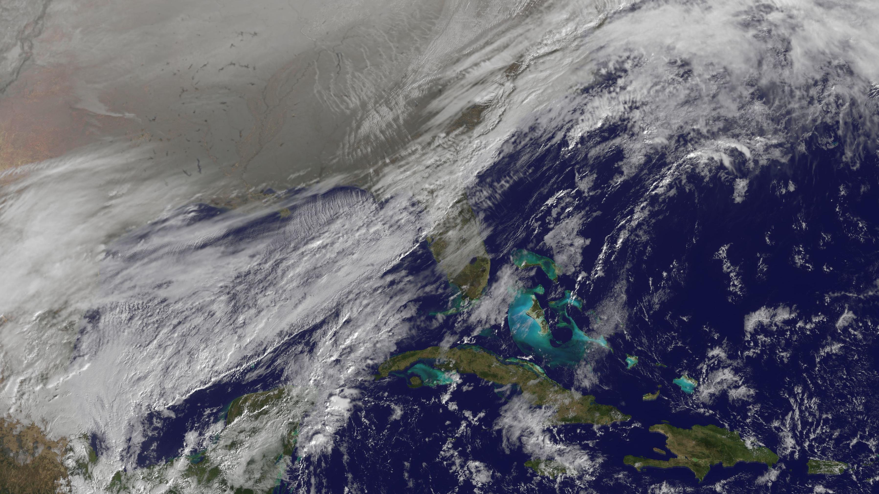Polarwirbel gerät aus der Bahn und ist Schuld an der eisigen Kälte in Nordamerika