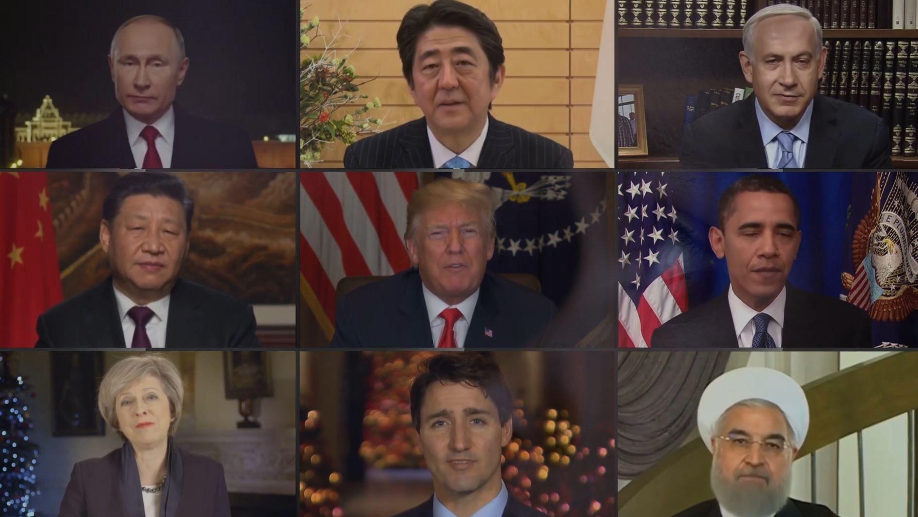 "Politiker aus aller Welt singen ""Imagine"""