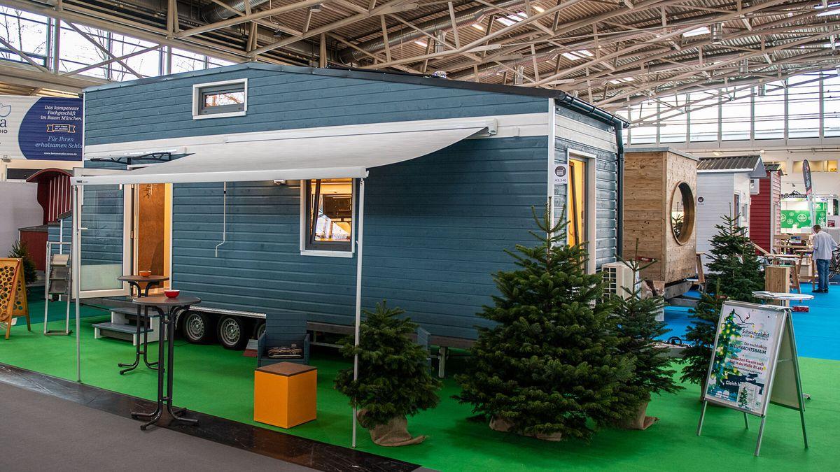 Ein Tiny House auf der Heim + Handwerk