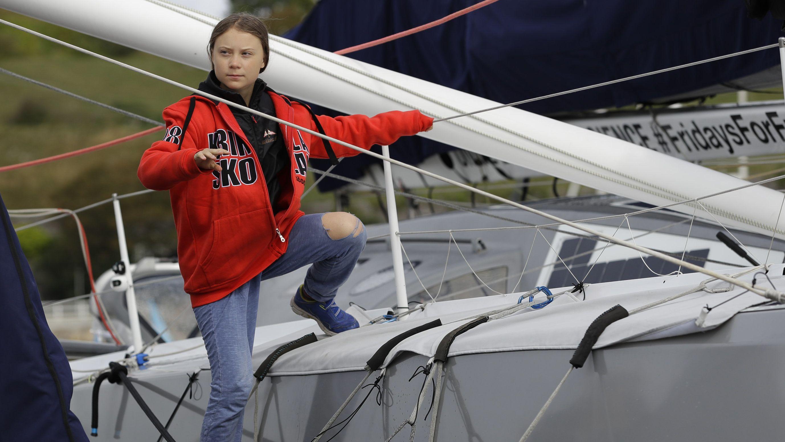 Klimaaktivistin Thunberg will den Atlantik überqueren