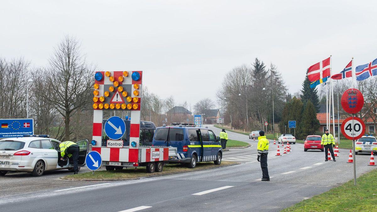 Grenzkontrollen an der deutsch-dänischen Grenze