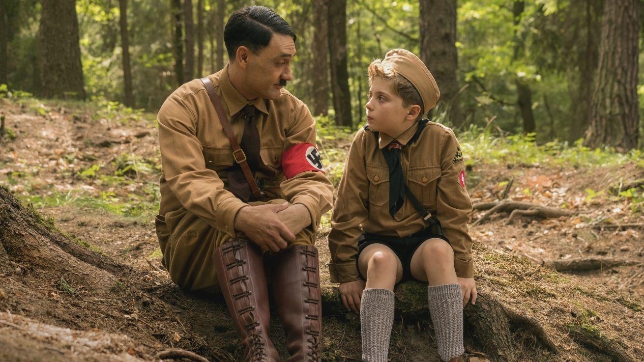 "Szene aus Taika Waititis mehrfach für den Oscar nominierten Film ""JoJo Rabbit"""