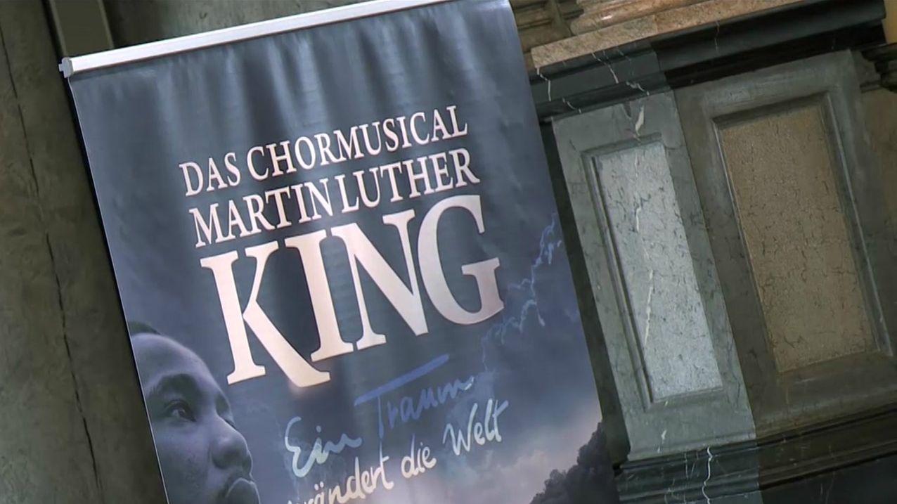 Das Plakat für das Musical