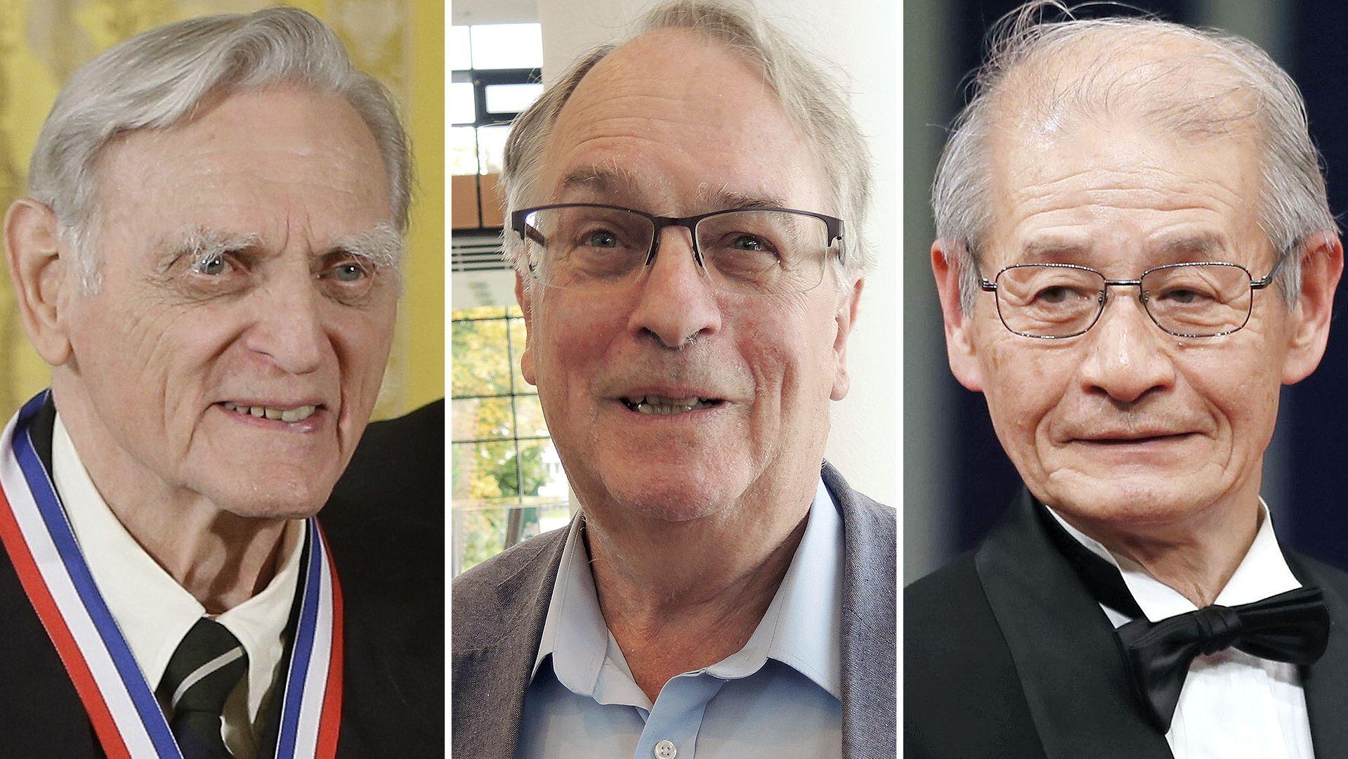 Chemie-Nobelpreisträger 2019: John Goodenough, Stanley Whittingham und Akira Yoshino