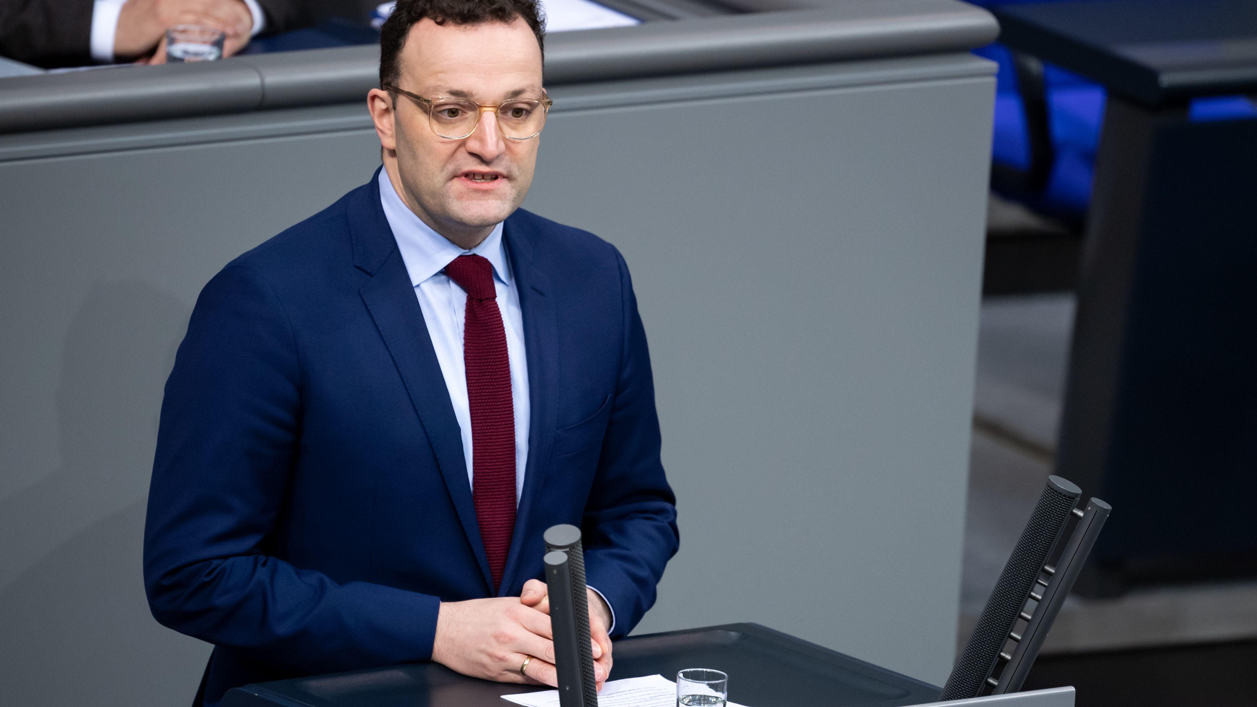 Bundesgesundheitsminister Jens Spahn, CDU