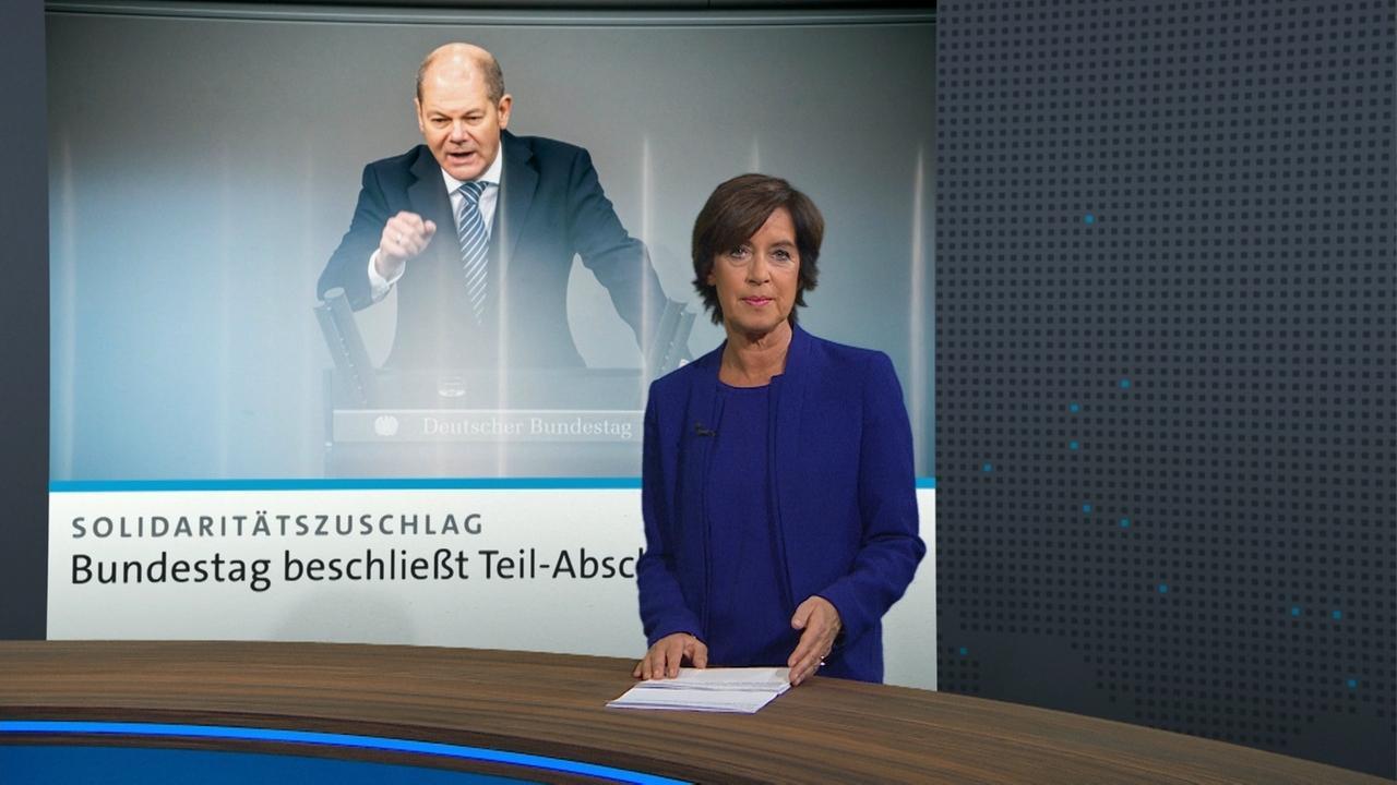 Moderatorin Ursula Heller