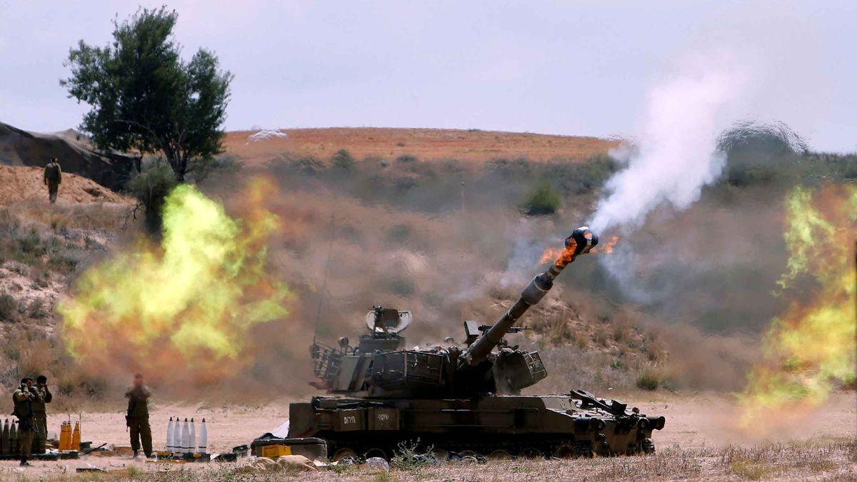 Israel beschoss den Gazastreifen 2014