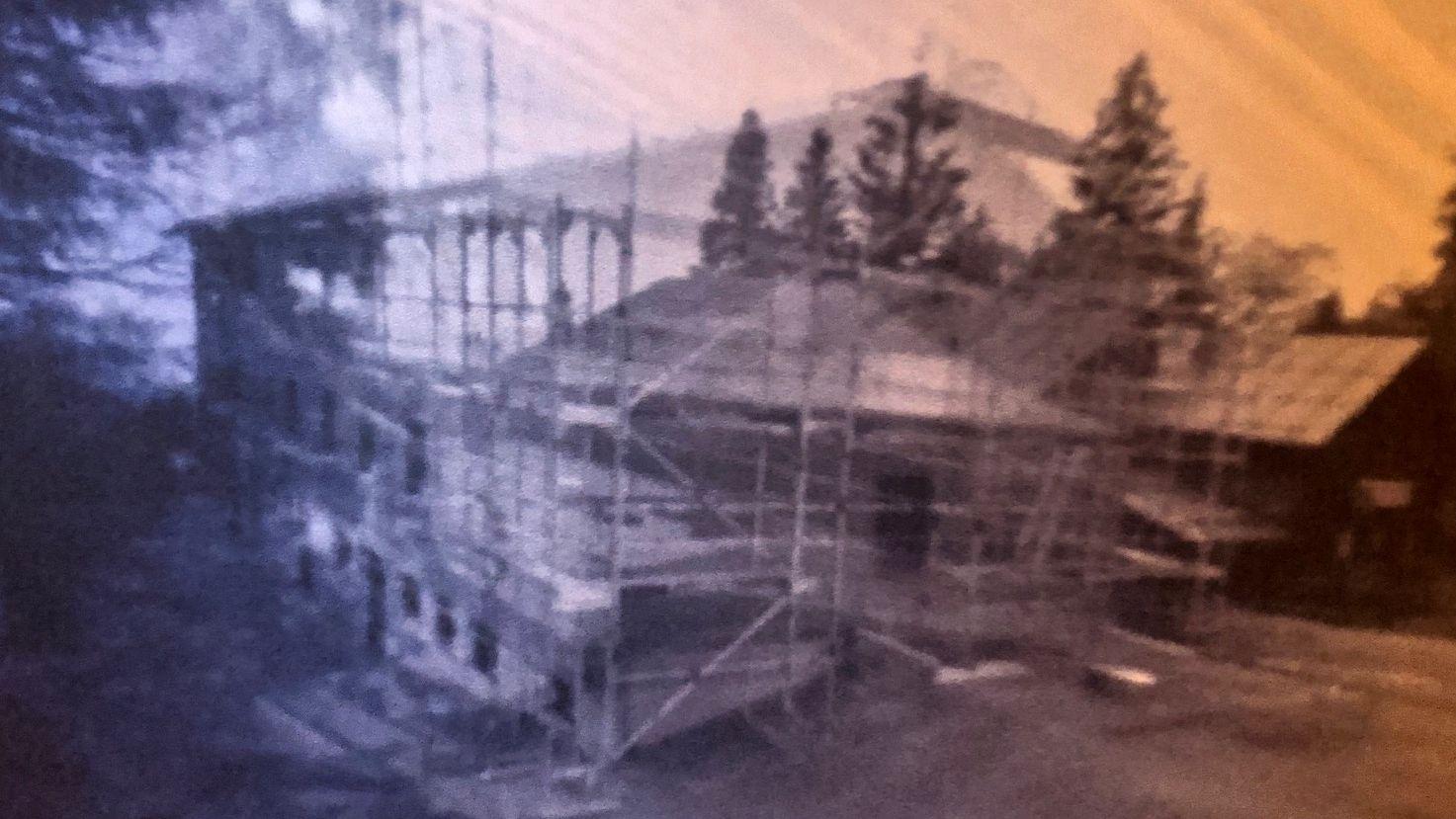 Das Falkenstein Schutzhaus mit 134 Tage Belichtungszeit