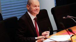 Olaf Scholz (SPD), Bundesfinanzminister, sitzt im Finanzausschuss des Bundestags.    Bild:picture alliance/dpa/Carsten Koall