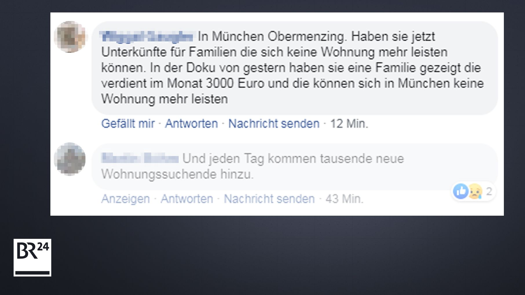 Facebook-Screenshot: BR