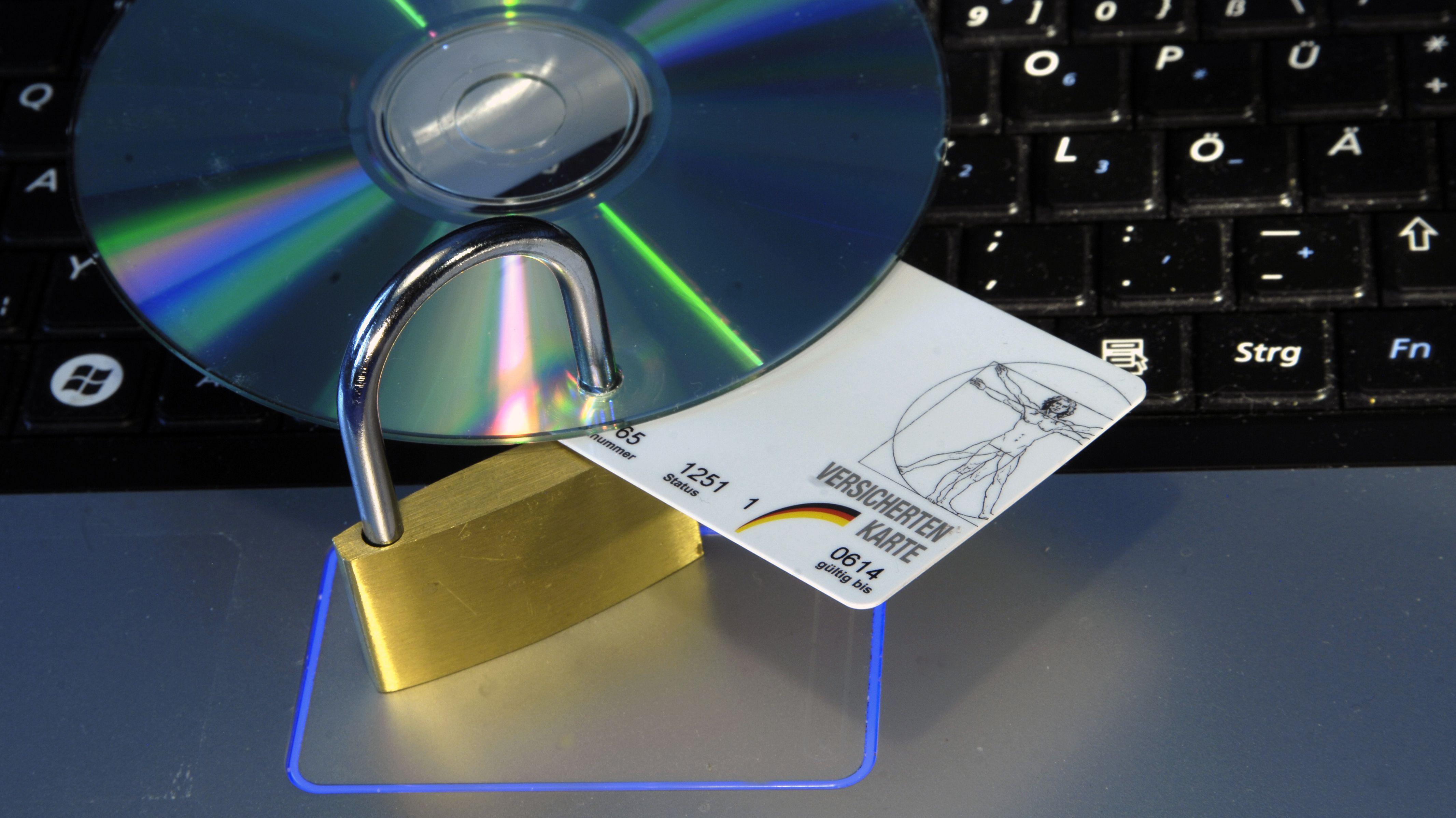 Symbolbild für Schutz der Patientenakte vor Datenklau
