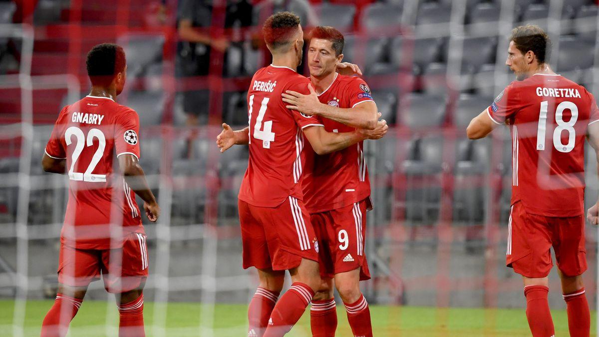 Spielszene FC Bayern - Chelsea