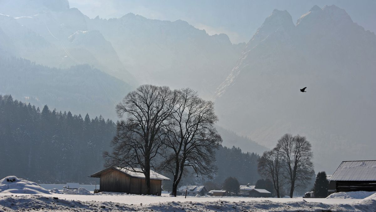 Winterwandern in Garmisch