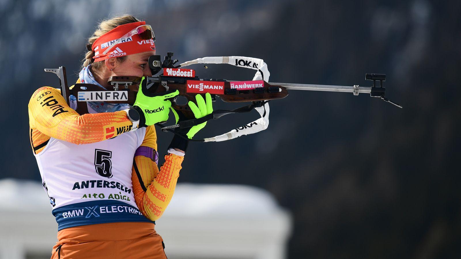 Biathlon-WM: Denise Herrmann holt Silber in der Verfolgung