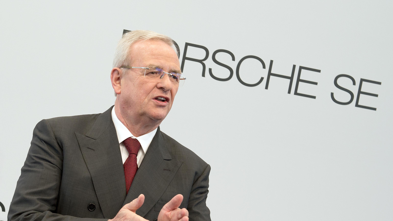 Porsche SE Vorstandsvorsitzender Winterkorn