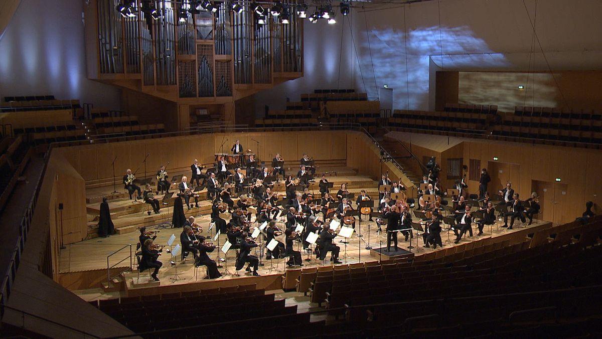 Die Bamberger Symphoniker auf der Bühne