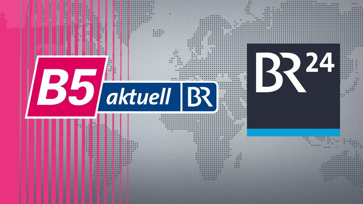 Logos von B5 und BR24