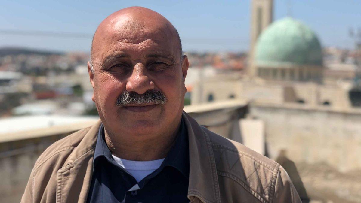 Abdullah Kabaha ist der stellvertretende Bürgermeister im Ostteil