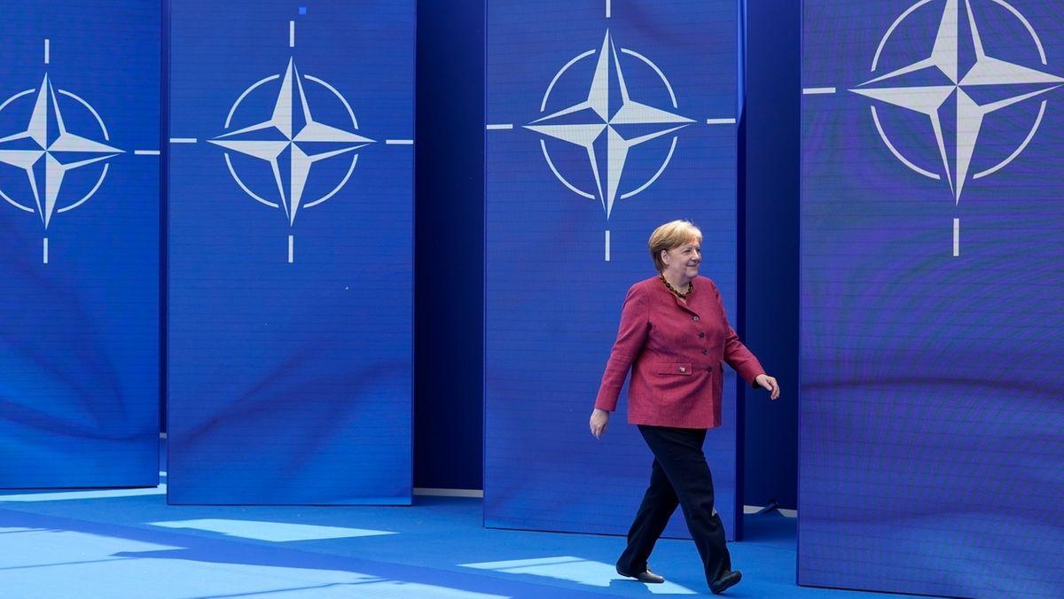 Nato-Gipfel in Brüssel, Bundeskanzlerin Angela Merkel