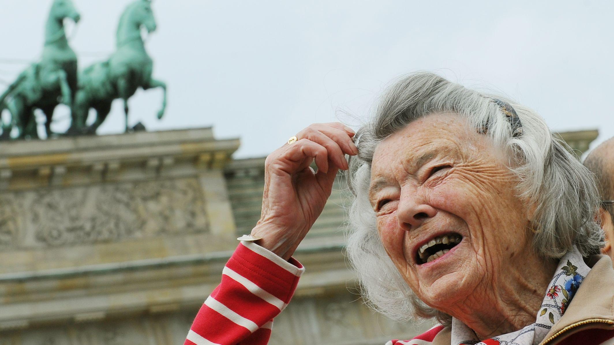 Rosamunde Pilcher auf Berlinbesuch 2012