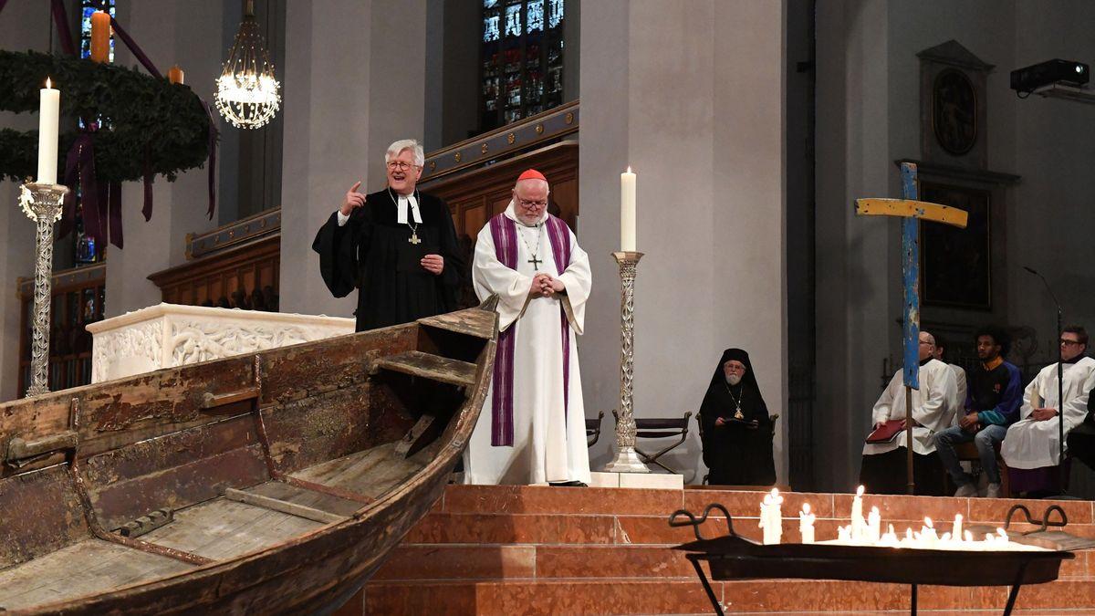 Gottesdienst in München zum Gedenken der Toten im Mittelmeer
