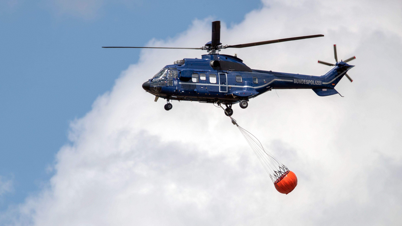Symbolbild: Hubschrauber der Bundespolizei